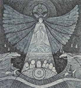 «Алиһә», Сәгыйдә Сираҗиева картинасы