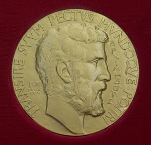 Филдс медалендә Архимед сурәте