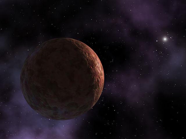 Седнаның рәссам ясаган сурәте, NASA