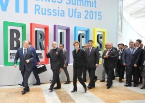 БРИКС җитәкчеләре Уфада 2015 елда үткән саммитта