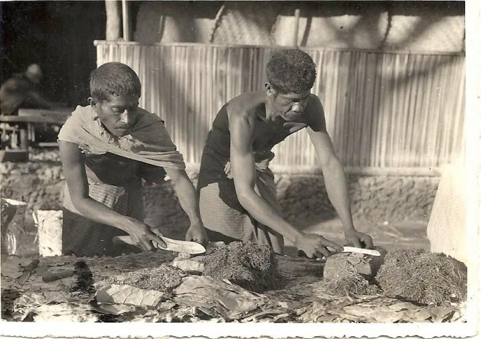 Португал Тиморында тәмәке ясаучы ир-атлар,1930 - 1939 еллар тирәсе, wikimedia
