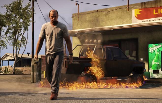 Grand Theft Auto V уеныннан скриншот © Rockstar Games