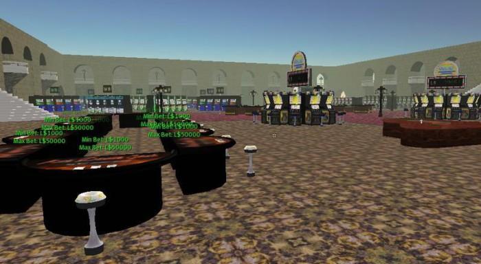Second Life уенында казино© Linden Lab